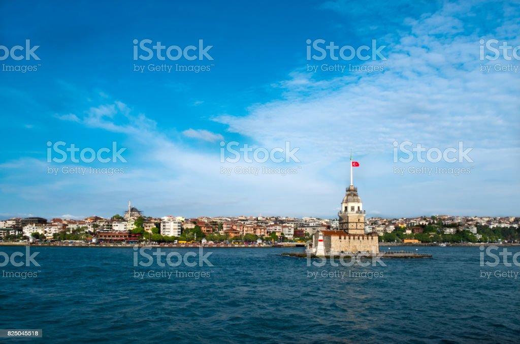 istanbul , maiden's tower, kizkulesi, stock photo