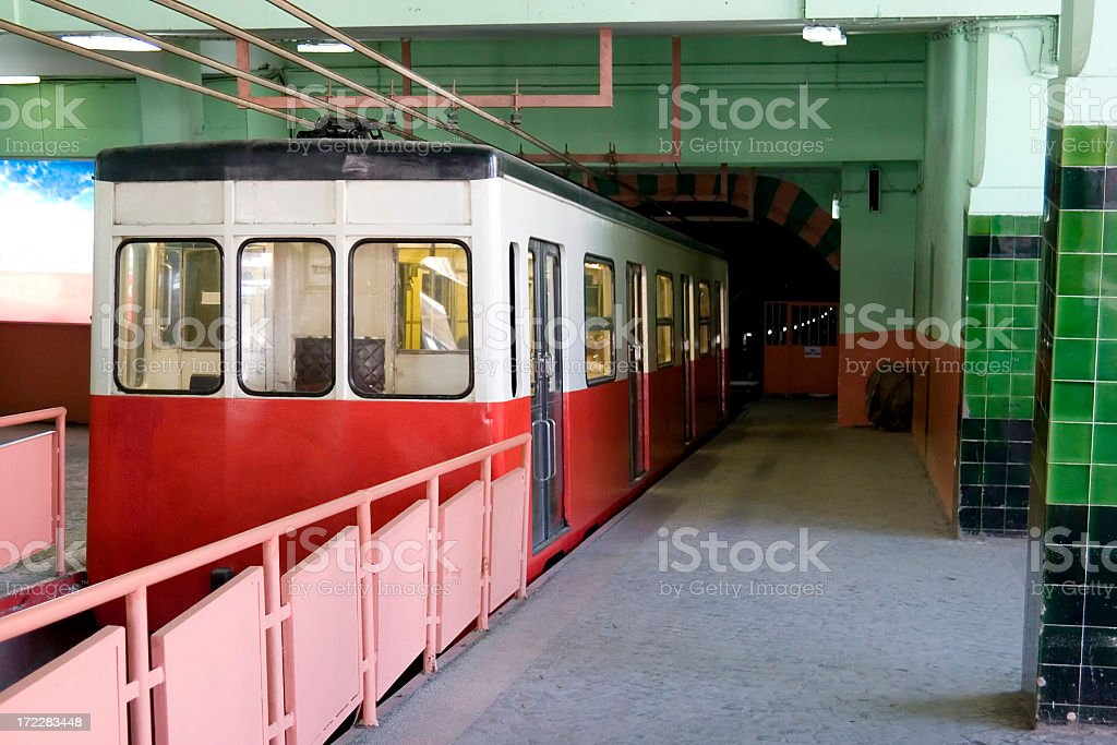 Istanbul old metro royalty-free stock photo