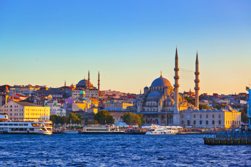 Istanbul Sunset Stock Photo - Download Image Now