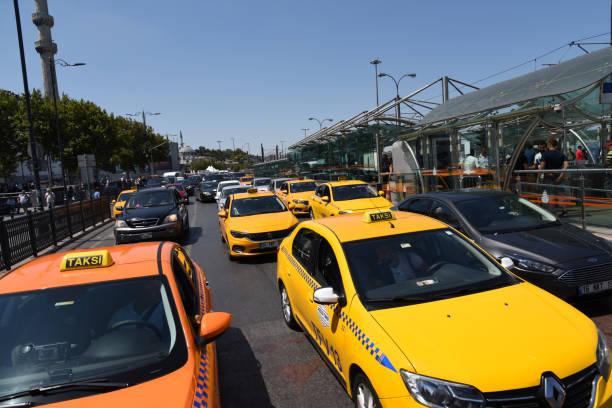 istanbul taxi - wiedenmeier istanbul stock-fotos und bilder