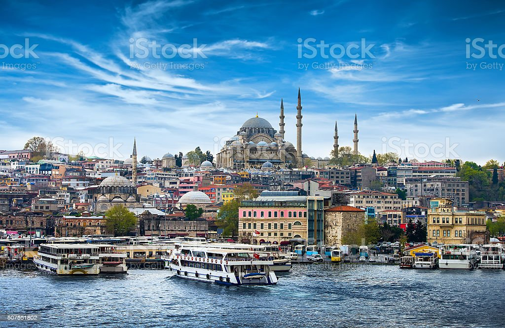 Istanbul the capital of Turkey - Royalty-free Asya Stok görsel
