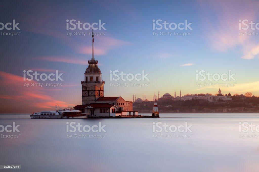 Istanbul Turkey Popular Places Iconic stock photo