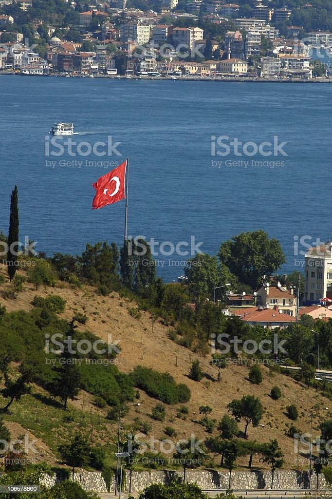 istanbul view royalty-free stock photo