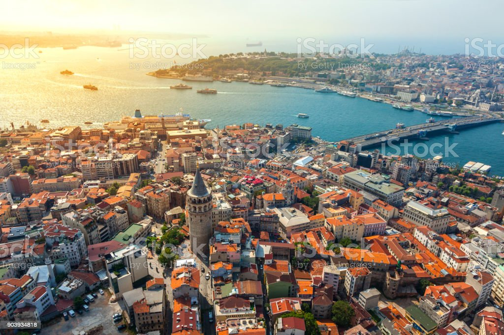 Istanbul views stock photo