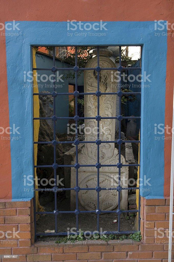 Istanbul window royalty-free stock photo