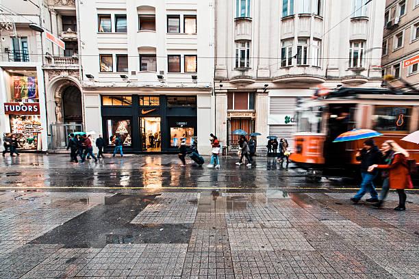 istiklal - istiklal avenue bildbanksfoton och bilder