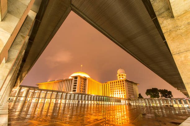 Istiqlal Mosque National Mosque of Indonesia masjid istiqlal stock pictures, royalty-free photos & images