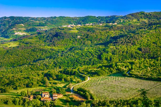 Region Istrien Kroatien Landschaft. – Foto