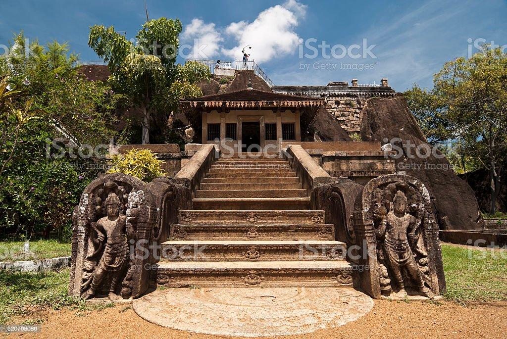 Isurumuniya Temple d'Anuradhapura, Sri Lanka - Photo