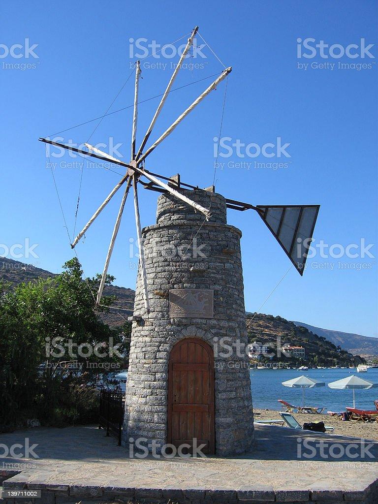 iswindmill stock photo