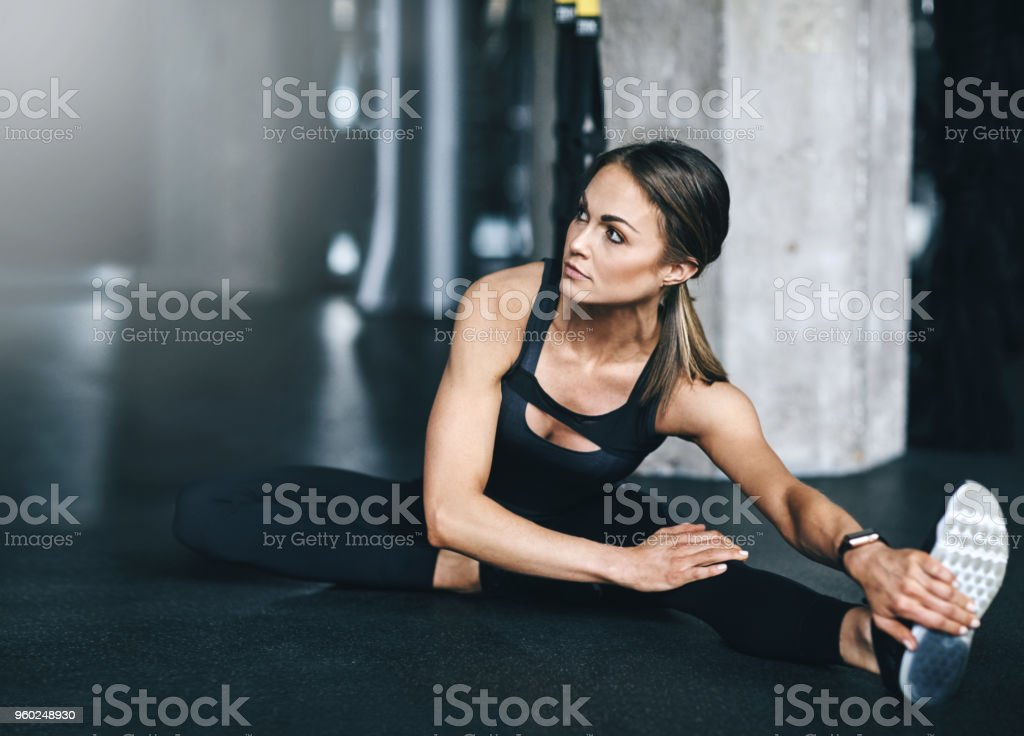 It all comes down to discipline stock photo