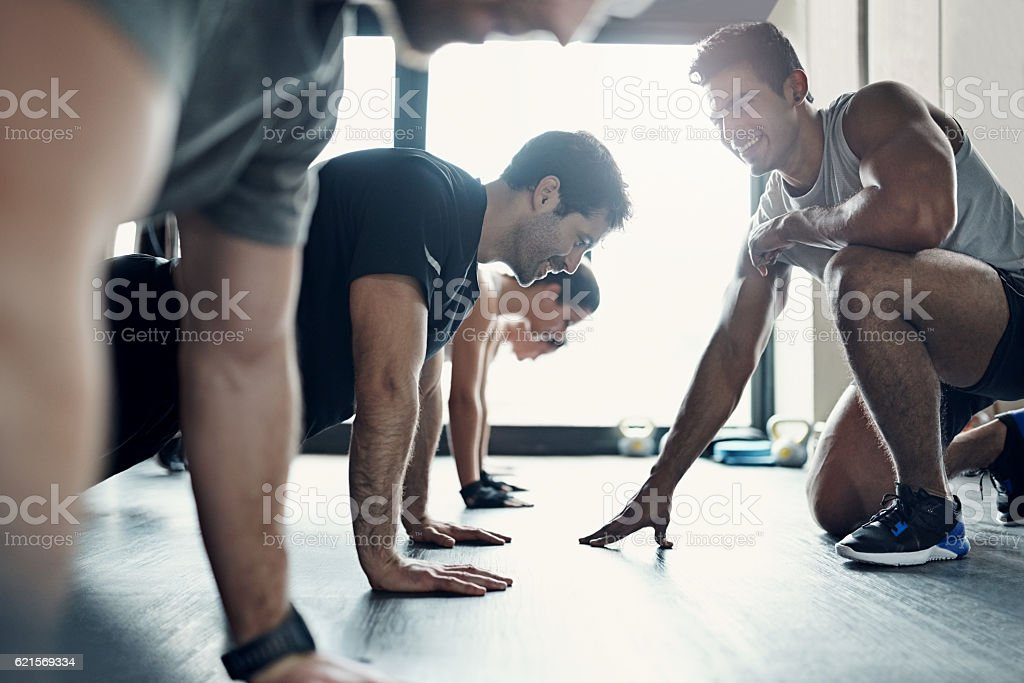 It feels a bit like group therapy… stock photo