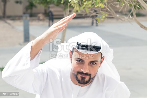 istock It has to be done! Arab Man at Project Location 531178932