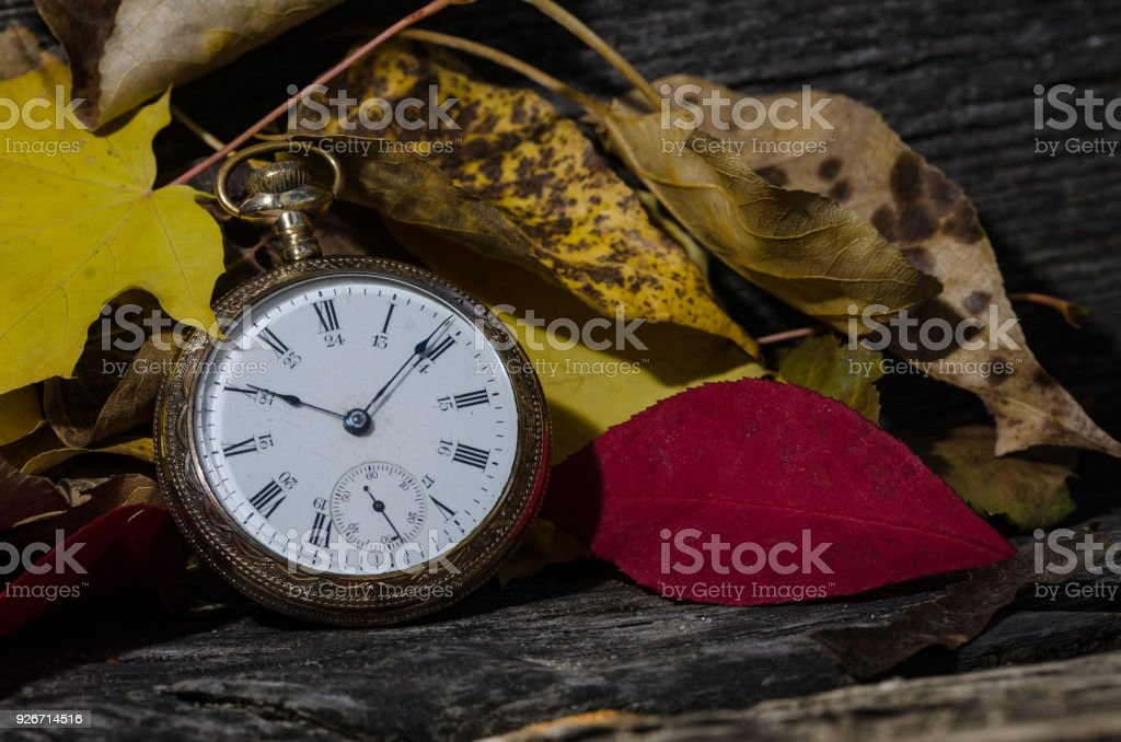 It is All About the Passage of Time stock photo