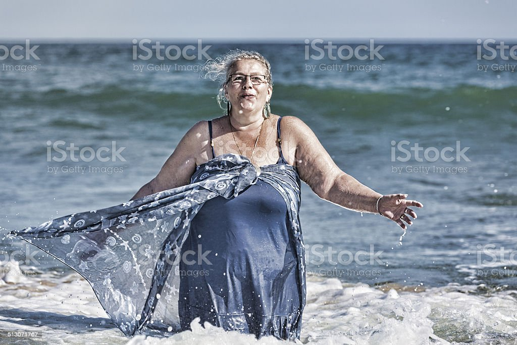 It is Cold Water stock photo