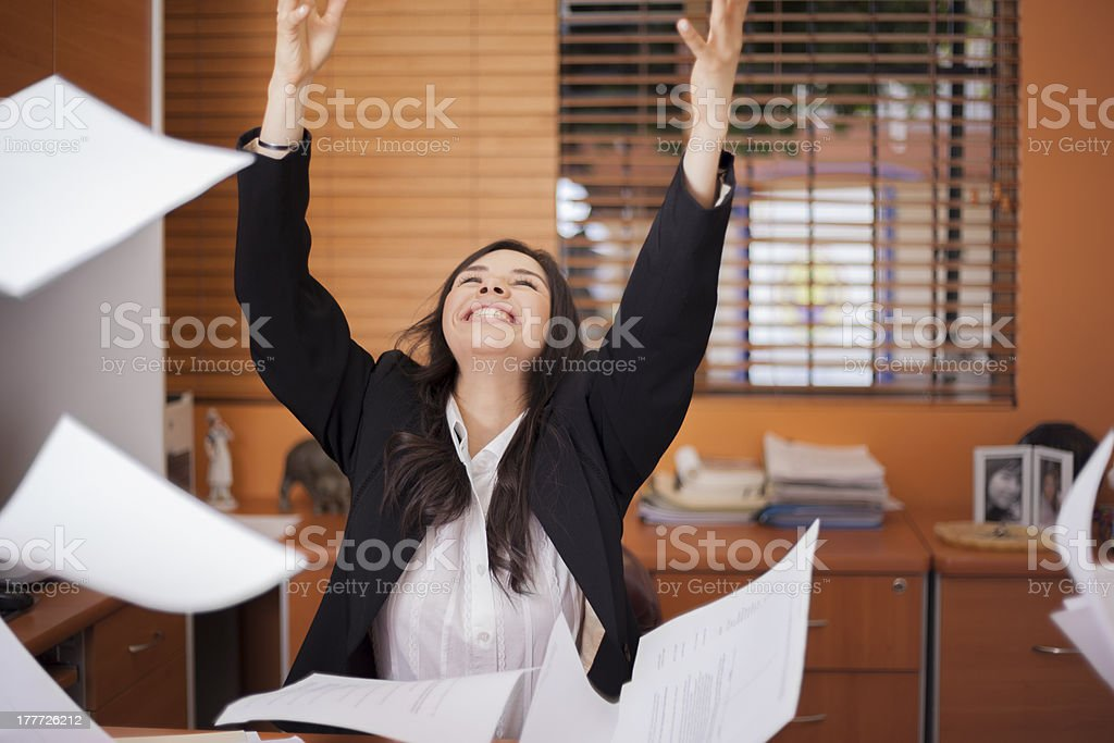 It is finally friday! stock photo