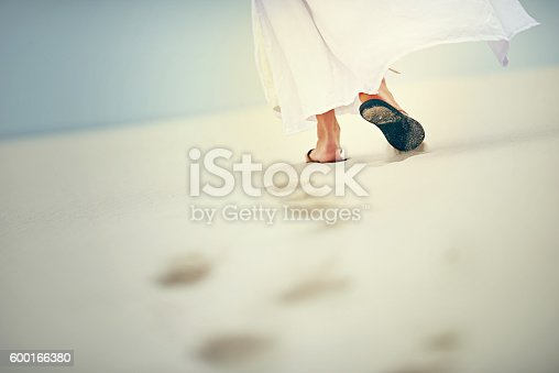 istock It is in difficult times that He carries you 600166380