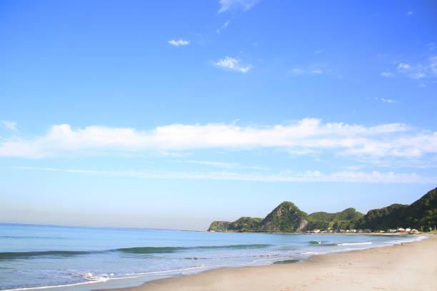 Es ist Iwai Beach in Chiba, Japan. – Foto