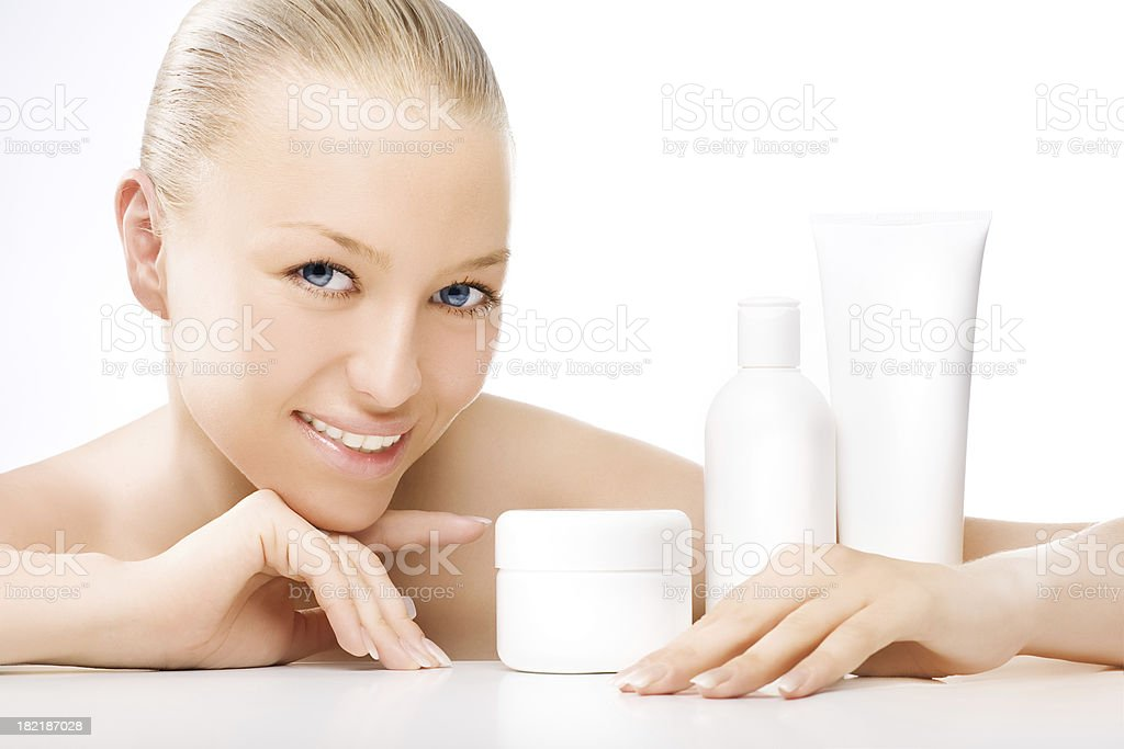 it is my cosmetics! royalty-free stock photo