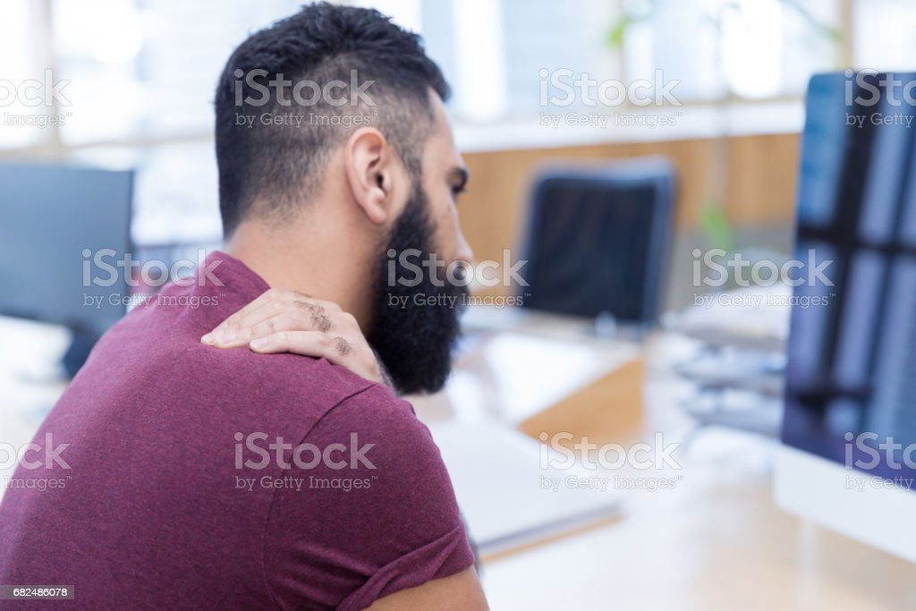 It is not easy with so much work pressure these days royalty-free stock photo