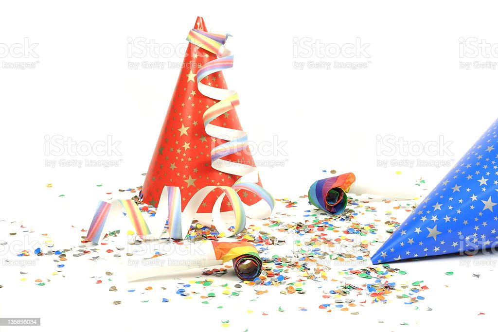 it is party time royalty-free stock photo