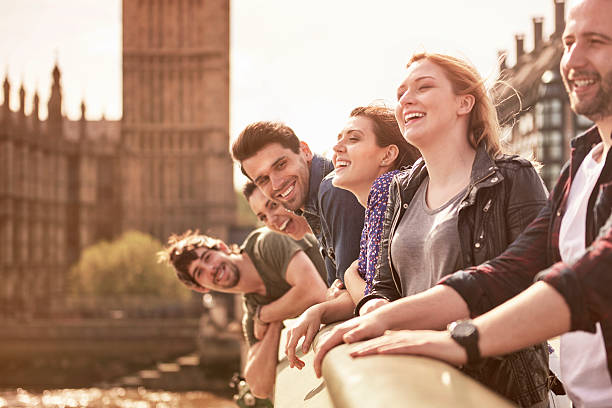 it is so good to have such friends - uk travel stock photos and pictures