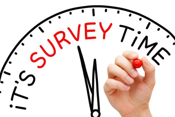 It Is Survey Time Concept stock photo