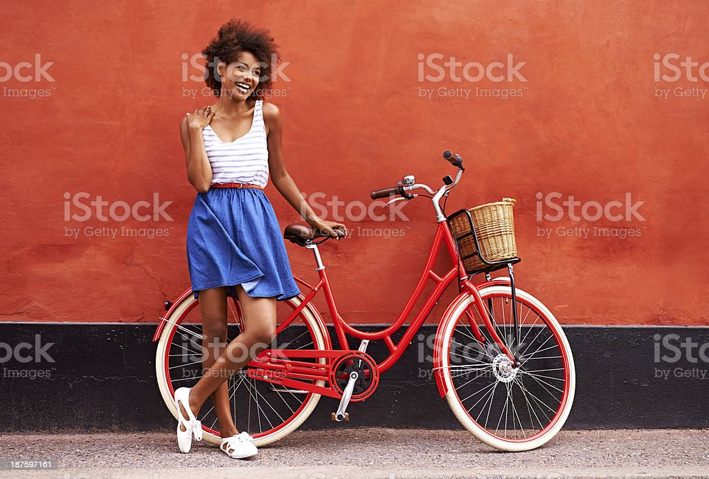 It just had to be red! royalty-free stock photo
