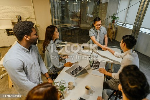 609072850 istock photo It makes me happy knowing you're part of the team 1178269233