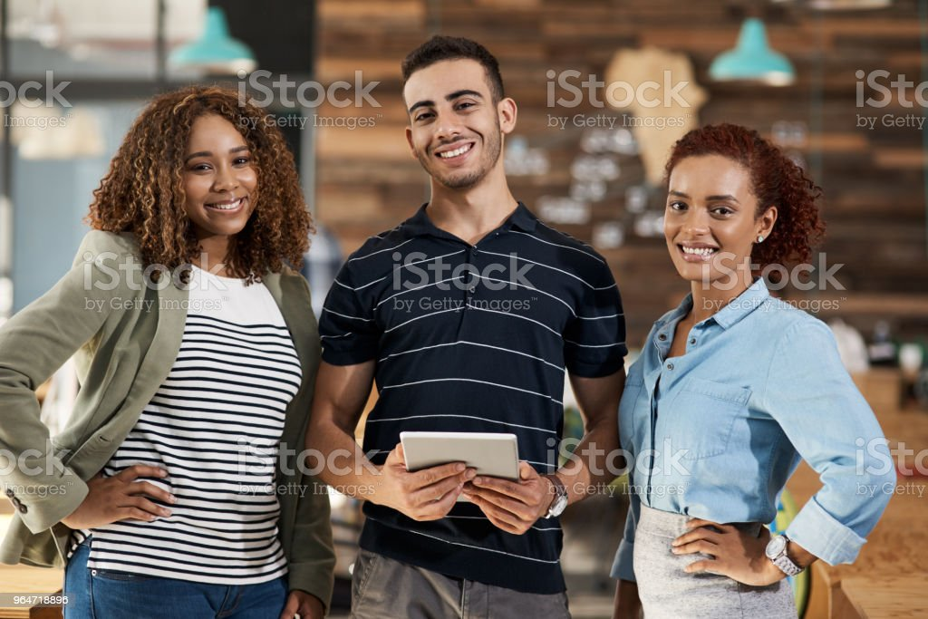 It may be small, but it'll definitely be successful royalty-free stock photo