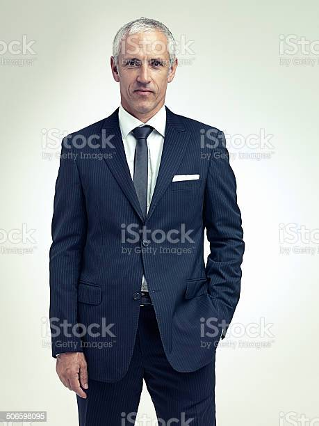 It Suits Him To Be Successful Stock Photo - Download Image Now