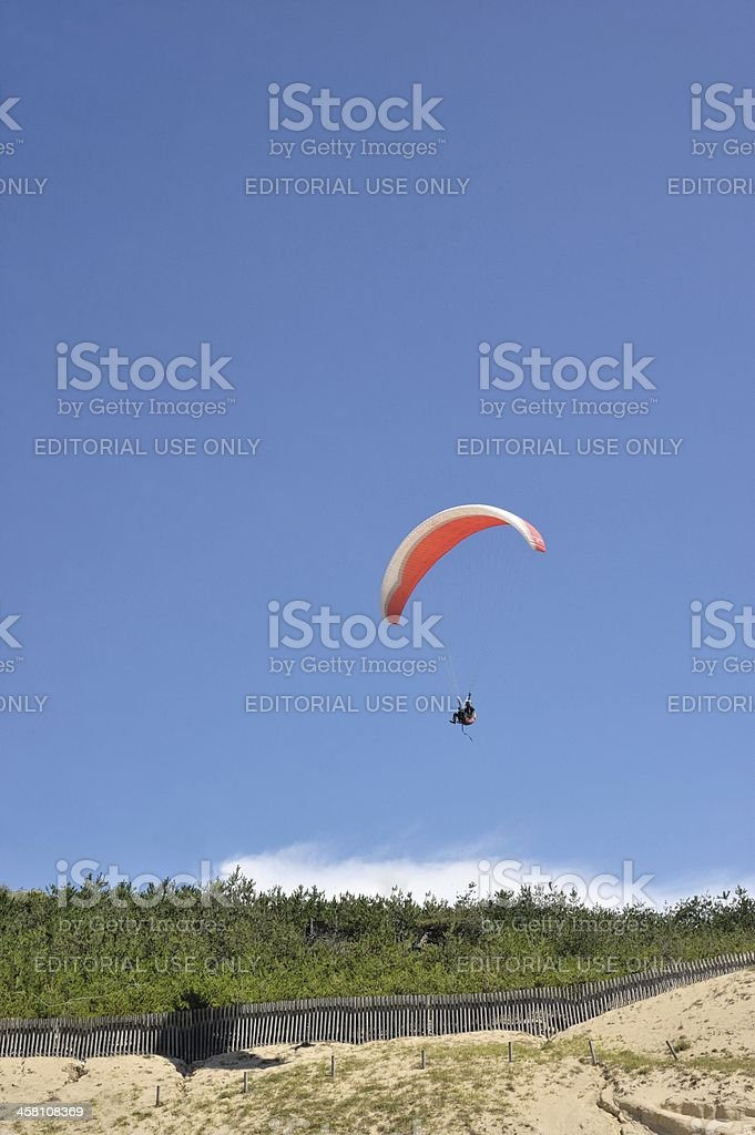 It takes off royalty-free stock photo