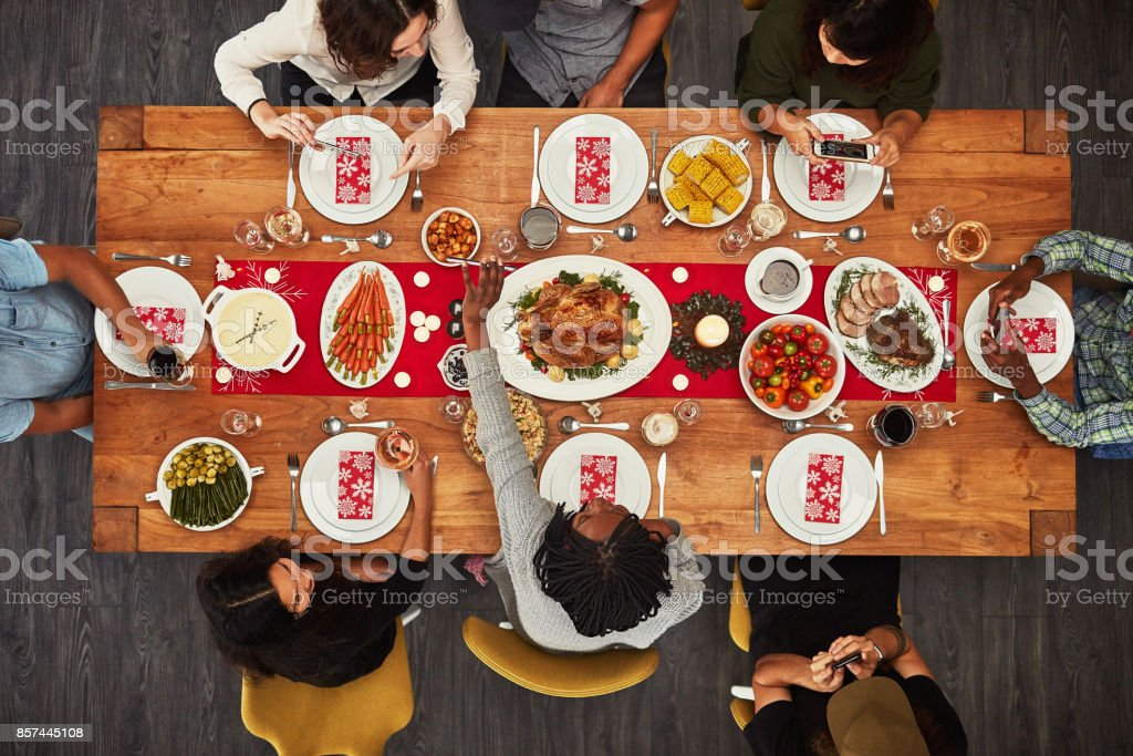 It wouldn't be a gathering without food stock photo