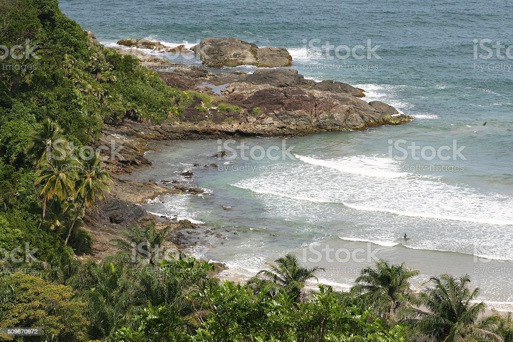 Itacare / South coast of Bahia stock photo