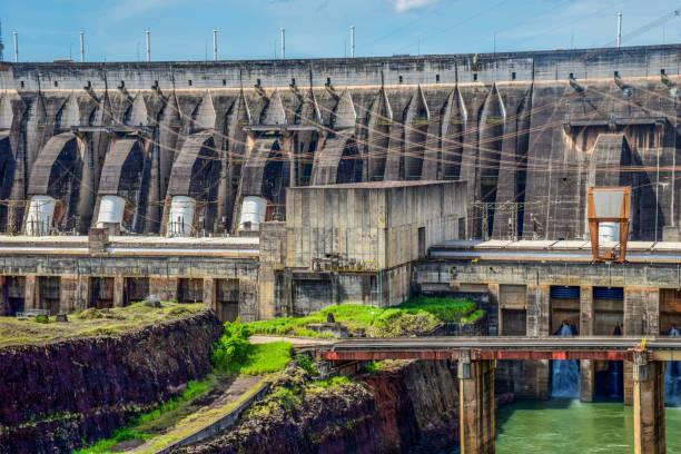 Itaipú Dam stock photo