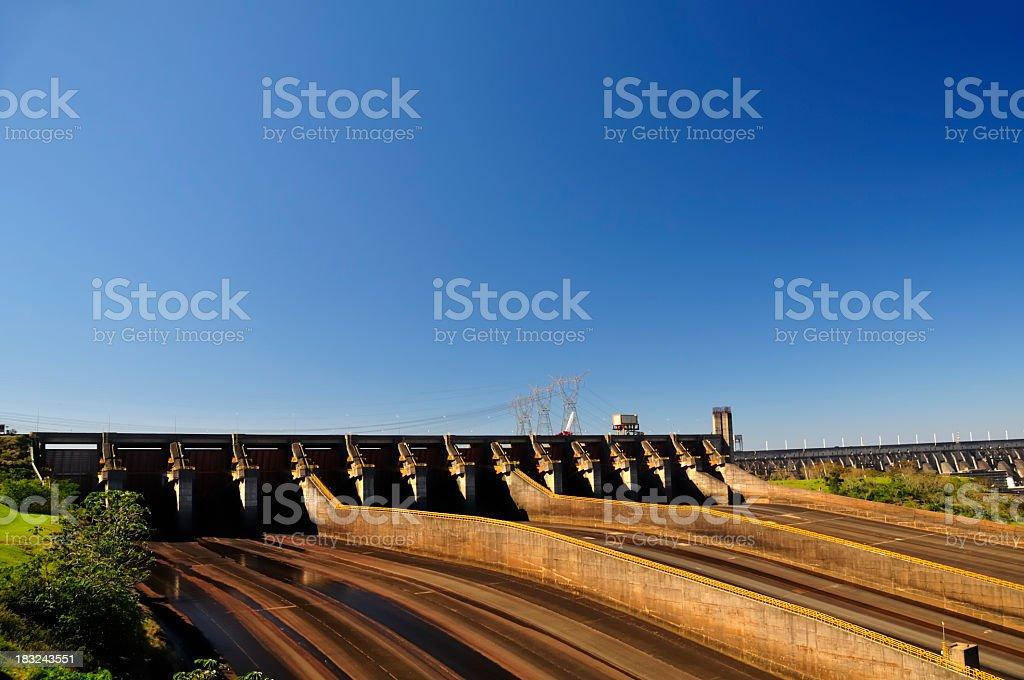 Itaipu Dam stock photo