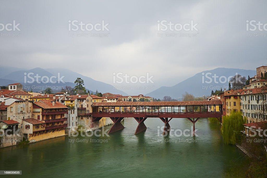Itali, Bassano del Grappa. - foto stock