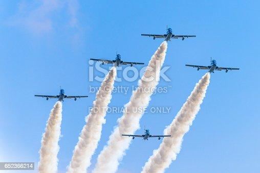 istock Italian aerobatics team,4 652366214