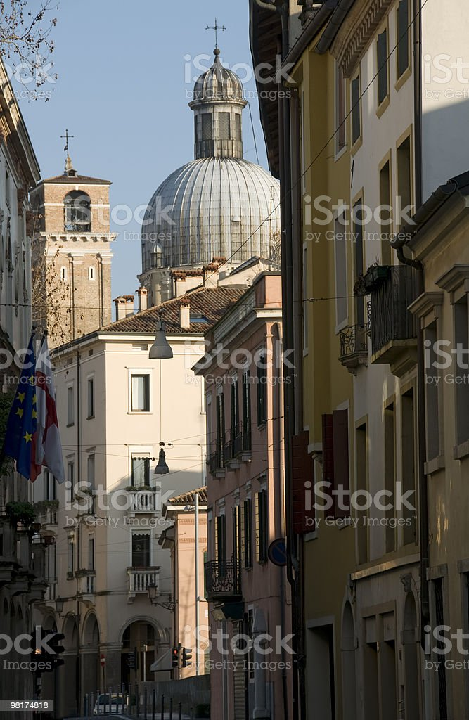 Italian alley royalty-free stock photo