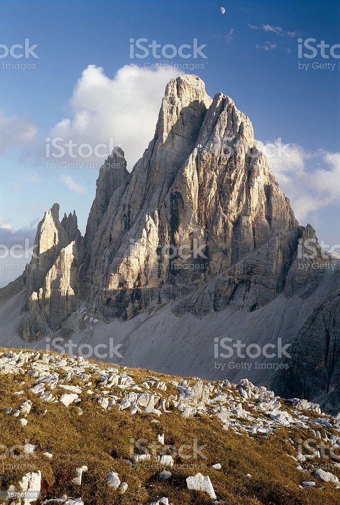 Italian Alps. Cima Dodici. royalty-free stock photo