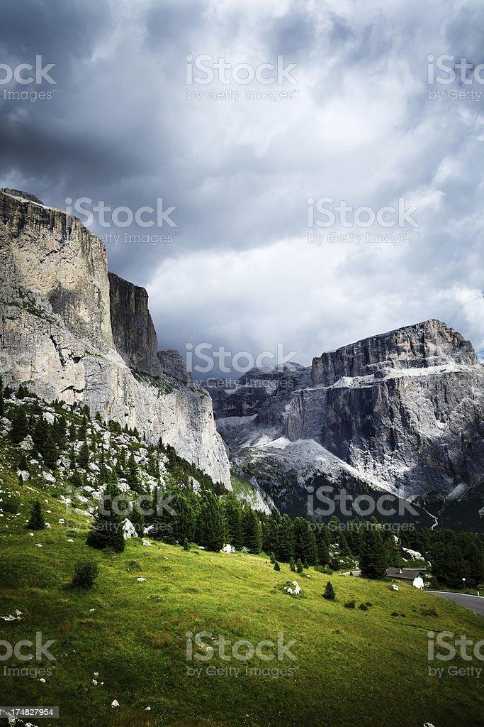 Italian Alps, Dolomites royalty-free stock photo