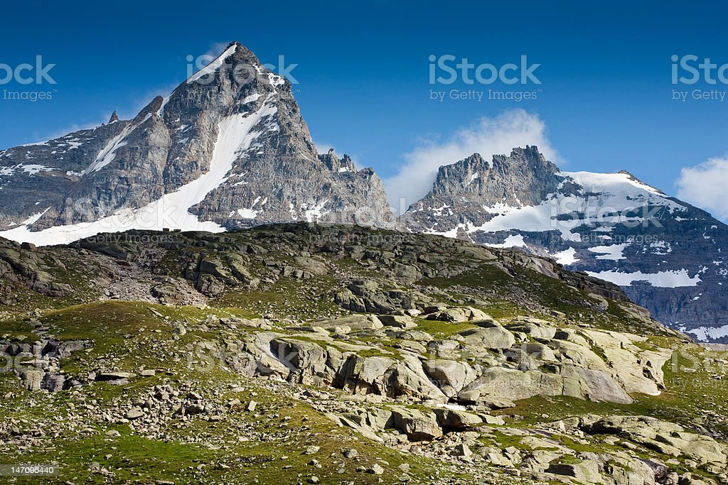 Italian Alps royalty-free stock photo