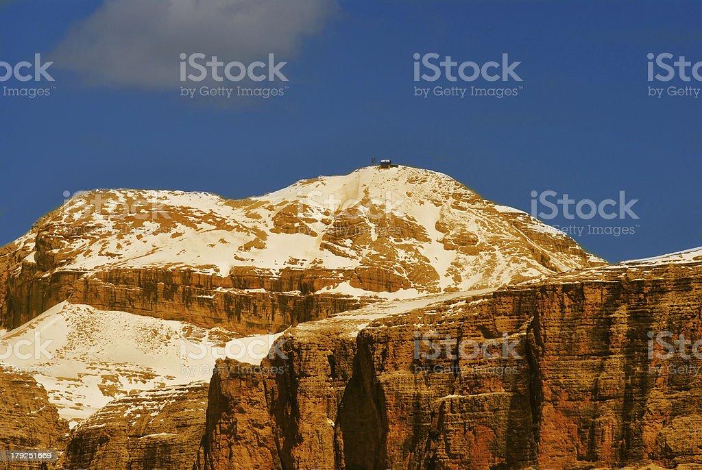 Italian Alps royalty-free stock photo