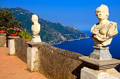 "Italian Amalfi Coast from Belvedere ""Terrace of Infinity"", Ravello"