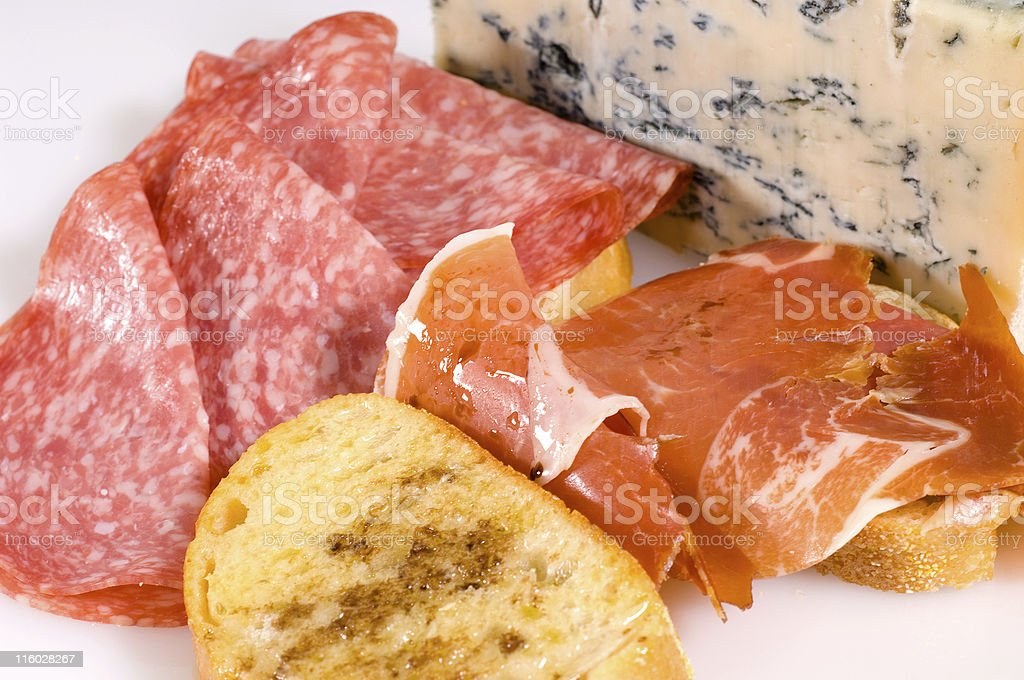 Italian Antipasto royalty-free stock photo