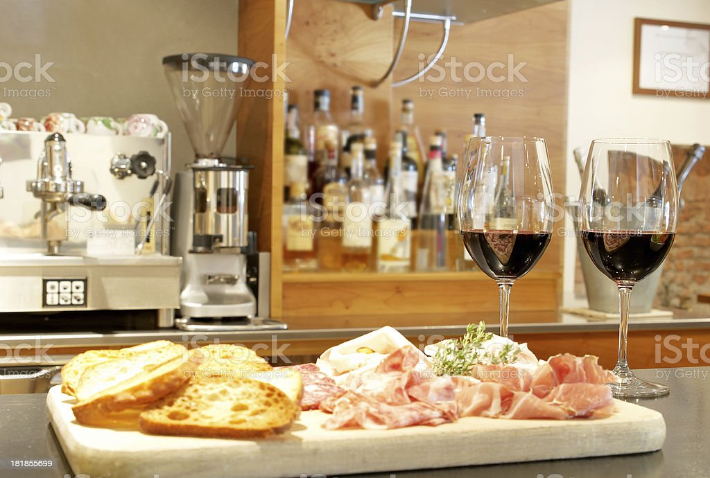 Italian aperitif stock photo