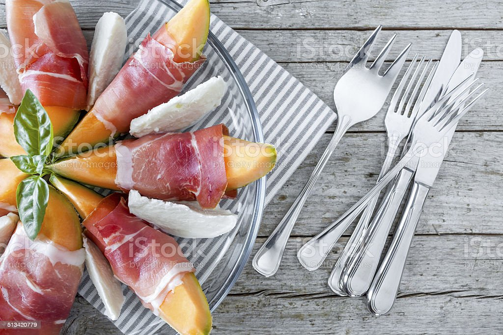 Italian Appetizer stock photo