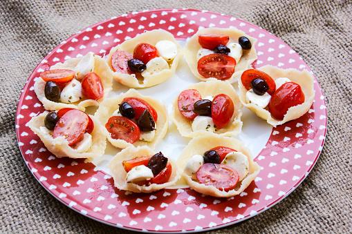 이탈리아식 전채 요리 누벨퀴진에 대한 스톡 사진 및 기타 이미지