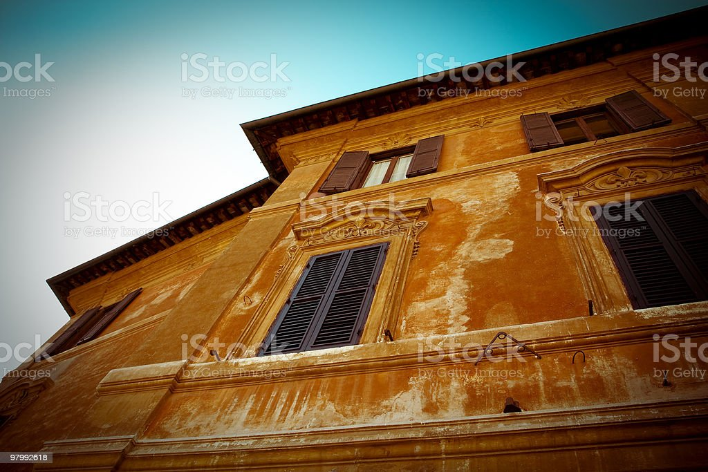 italian architecture royalty free stockfoto