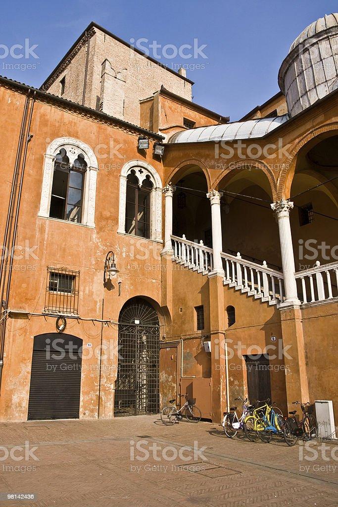 Italian architecture royalty-free stock photo